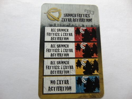 zombie action card (Fatty extra activation)